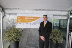 Dr Jon Patricios. 4th International Conference on Concussion in Sport, Zurich, November 2012