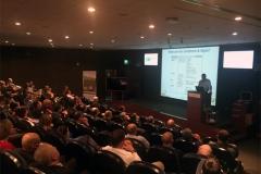 Dr Patricios addressing clinicians at Aspetar Sports Medicine, March, 2017