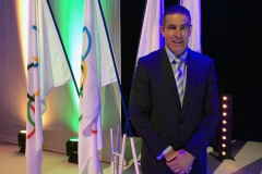 Dr Patricios addressing the IOC on concussion, Monaco, March, 2017