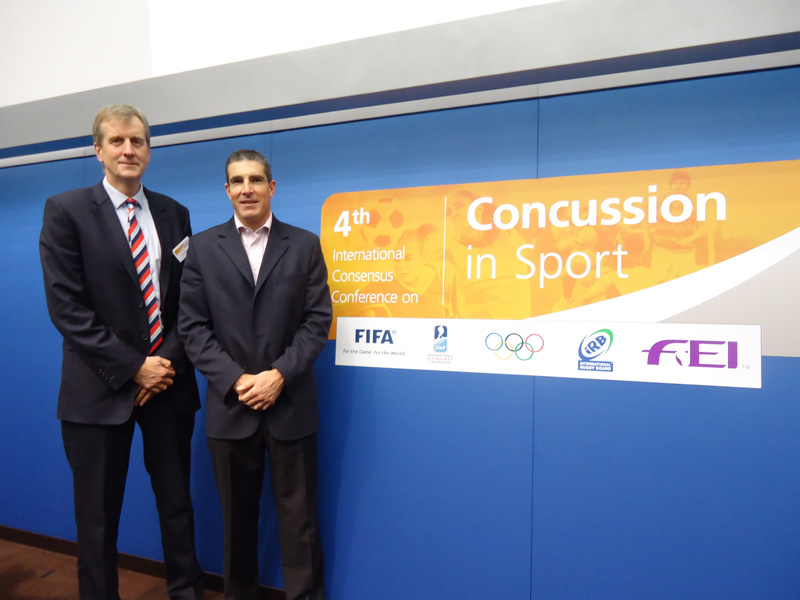 Dr Simon Kemp (IRB) and Dr Jon Patricios