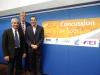 Drs Martin Raftery (IRB), Simon Kemp (RFU) and Jon Patricios