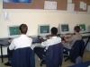 School boy\'s being tested