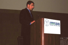 Dr Jon Patricios ACSM Presentation 2007